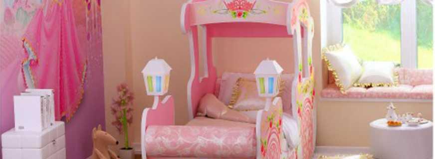 Полный обзор кроватей для девочек, конструктивные особенности моделей