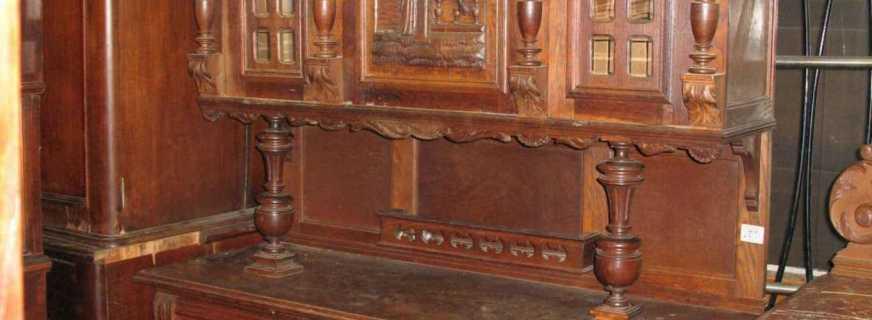 Варианты старинной мебели и нюансы, о которых нужно помнить