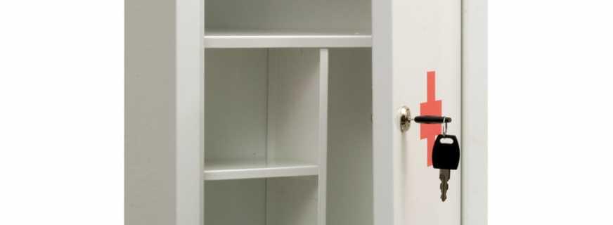Назначение шкафов медицинских металлических, советы по выбору