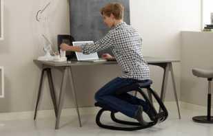 Показания к использованию коленного стула, его разновидности