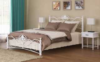 Особенности двуспальной металлической кровати, критерии выбора