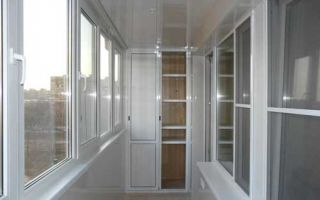 Как выбрать пластиковый шкаф для балкона, обзор моделей