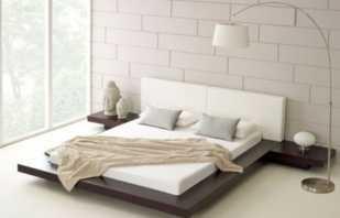 Традиционные кровати в японском стиле, особенности конструкции