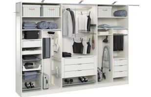 Варианты наполнения шкафов купе в спальне, какой лучше