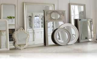 Варианты использования и размещения зеркал в интерьере жилых помещений