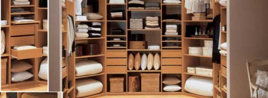 Правила обустройства гардеробной, советы специалистов