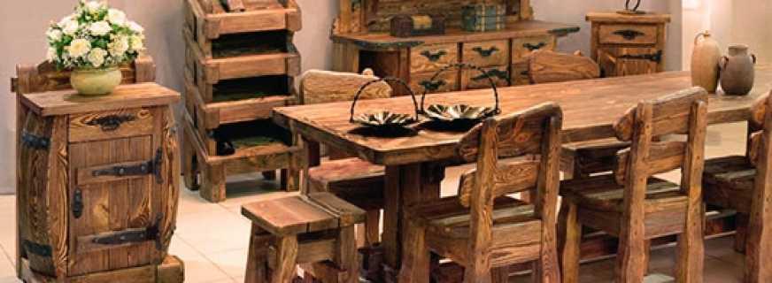 Особенности брашированной мебели, нюансы выбора