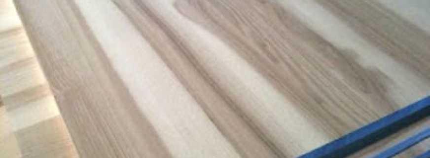 Мебельные щиты из ясеня, его характеристики и важные нюансы