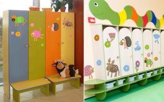 Варианты наклеек на шкафчик для детского сада, критерии выбора