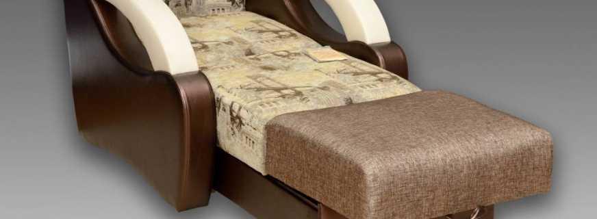 Подборка лучших кресел-кроватей аккордеон, их характерные отличия