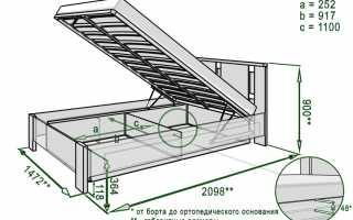 Как подобрать размеры полуторной кровати, стандарты моделей разных стран