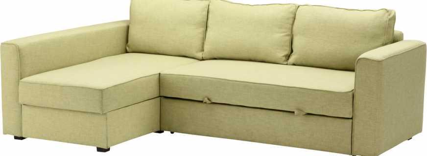 Преимущества и недостатки дивана Монстад от компании Икеа