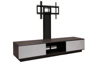 Модели тумб с кронштейном под телевизор, советы по выбору