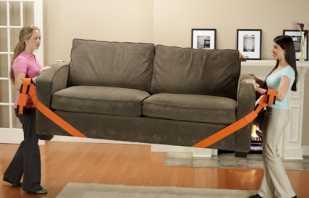 Правила выбора ремней для переноски мебели, на что обратить внимание