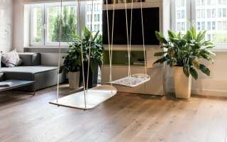Советы по установке качелей в квартире, нюансы сочетания с интерьером