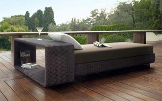 Как выбрать садовую мебель из ротанга, обзор моделей