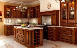 Правила выбора деревянной мебели на кухню
