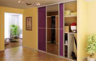 Обзор встроенных шкафов для прихожей, какие существуют варианты