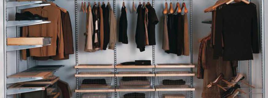 Планировка гардеробной комнаты, подбор размеров