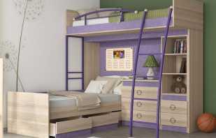 Разновидности двухъярусных угловых кроватей, их место в интерьере