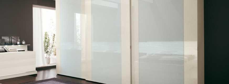 Обзор глянцевых шкафов, и их особенности