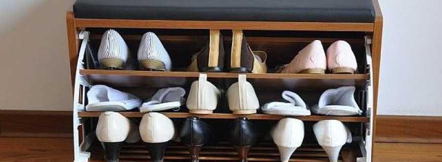 Модели тумб пуфиков под обувь для прихожей, какие лучше
