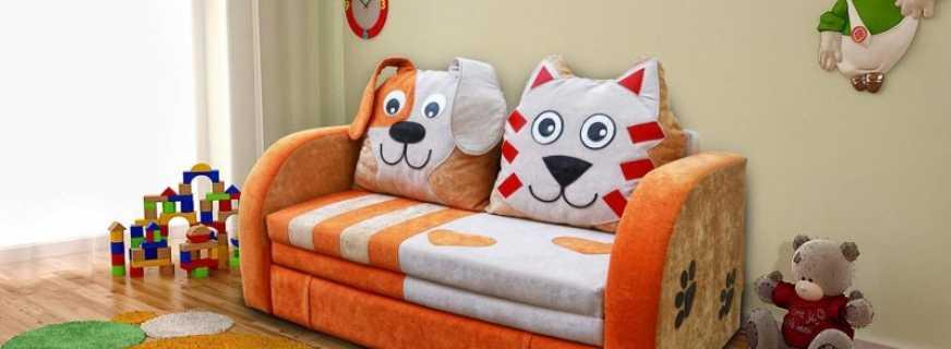 Разновидности и особенности детских диванов, критерии выбора