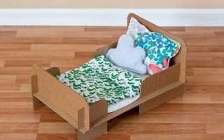 Популярные модели кроватей для кукол, безопасные материалы