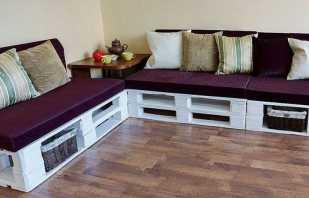 Пошаговое изготовление своими руками мебели из поддонов, фото примеров
