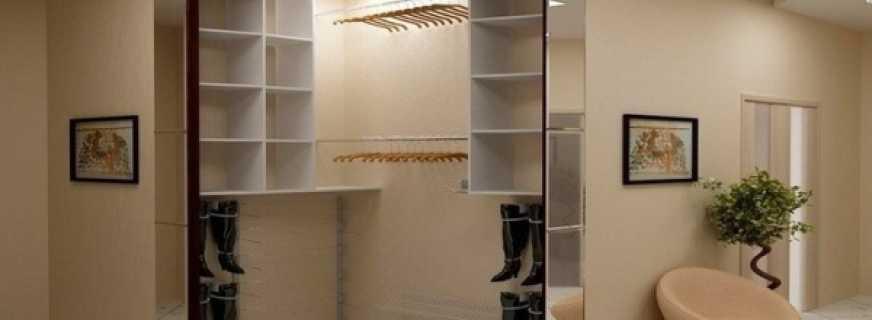 Если в коридоре реализовать гардеробную, что необходимо предусмотреть