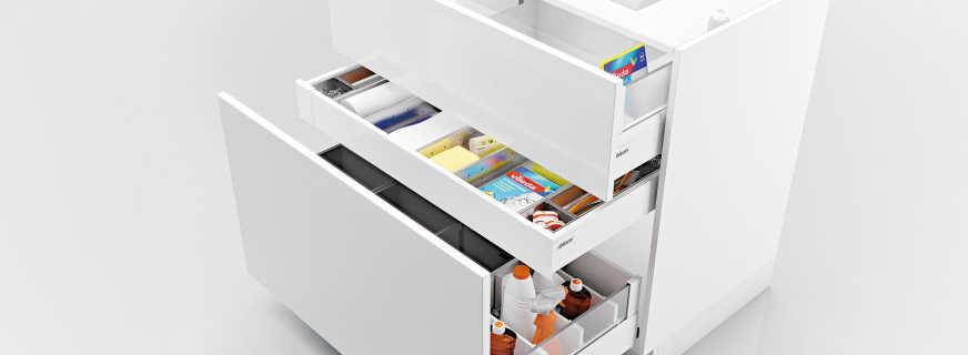 Особенности шкафов для мойки, советы по выбору