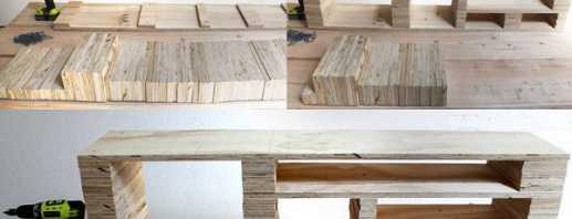 Изготовление мебели в домашних условиях, как сделать своими руками
