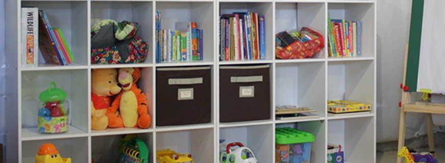 Обзор шкафов под игрушки для детской, правила выбора