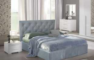 Особенности кроватей с мягким изголовьем, на что обратить внимание