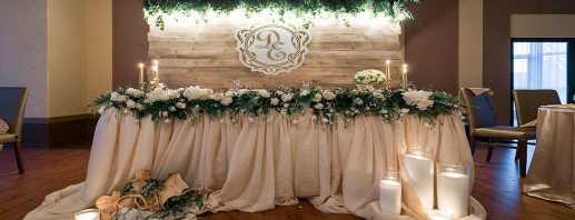 Идеи по оформлению свадебного стола, классические и креативные решения