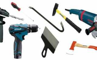 Этапы установки мебельных петель, разметка и крепление