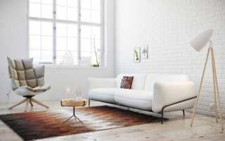 Актуальность белого дивана в разных стилях интерьера