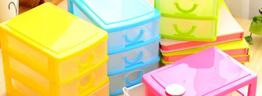 Существующие варианты комодов пластиковых с ящиками, их плюсы и минусы