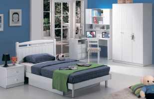 Мебель для детской комнаты в белом цвете, какие есть варианты