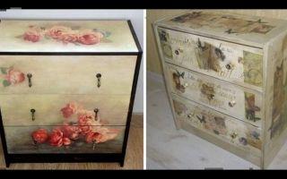 Как переделать своими руками старую мебель, наглядные примеры до и после