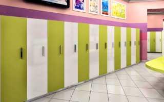 Особенности шкафчиков для детских садов, нюансы выбора