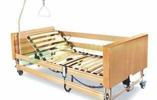 Конструктивные особенности кроватей для инвалидов, варианты моделей