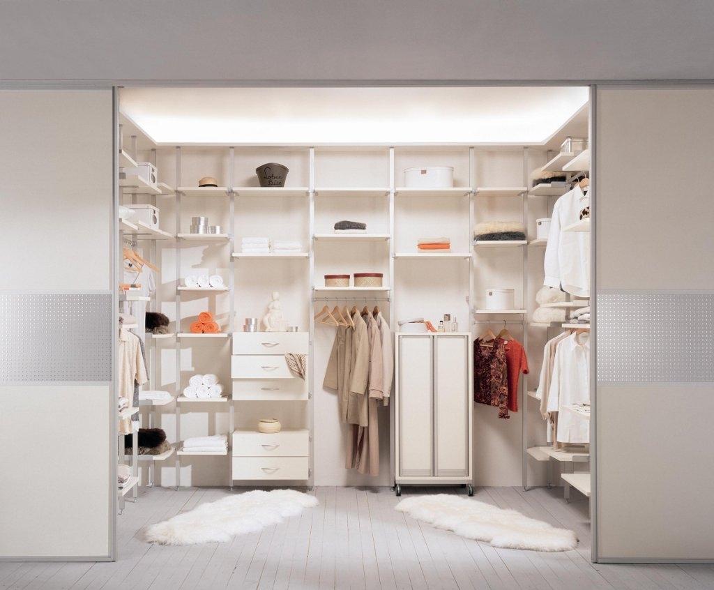 Белая гардеробная