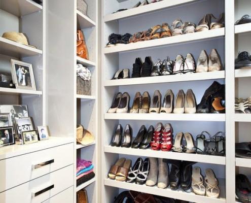 Большой стеллаж для обуви