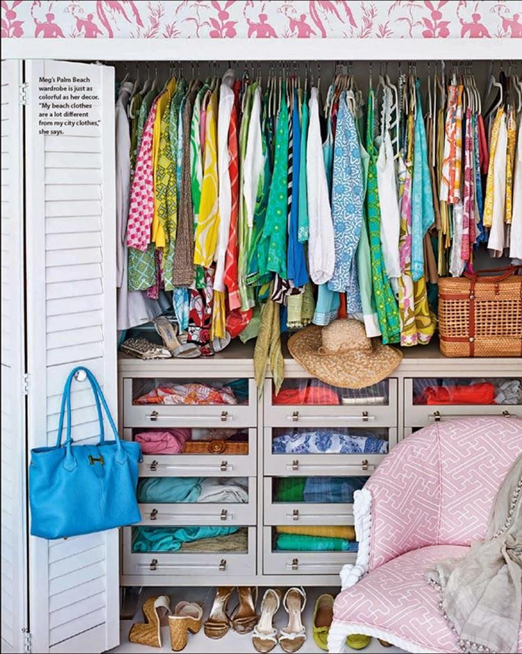 Главное в маленькой гардеробной - это продуманная эргономика