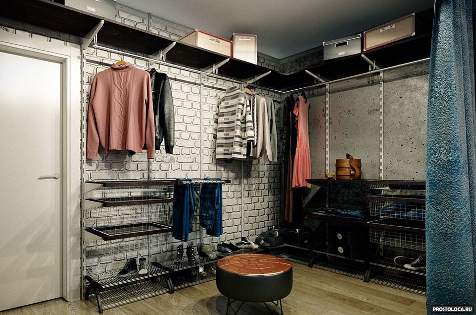 Идеи для гардеробной комнаты