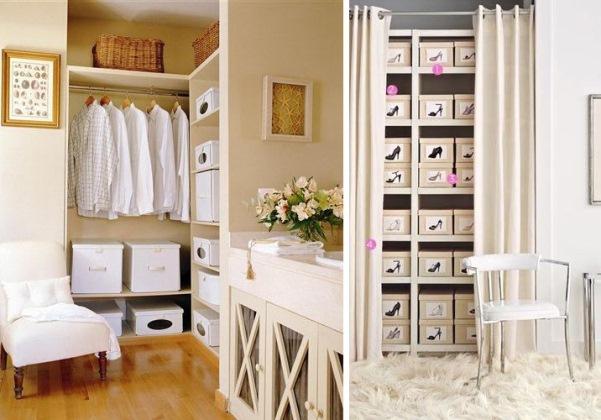 Идеи по оформлению гардеробной