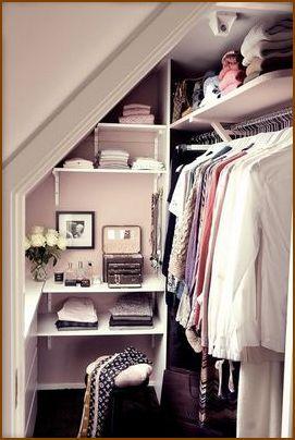 Идея небольшой гардеробной