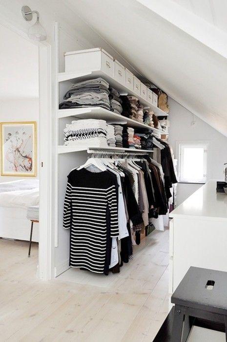 Как оформить гардеробную