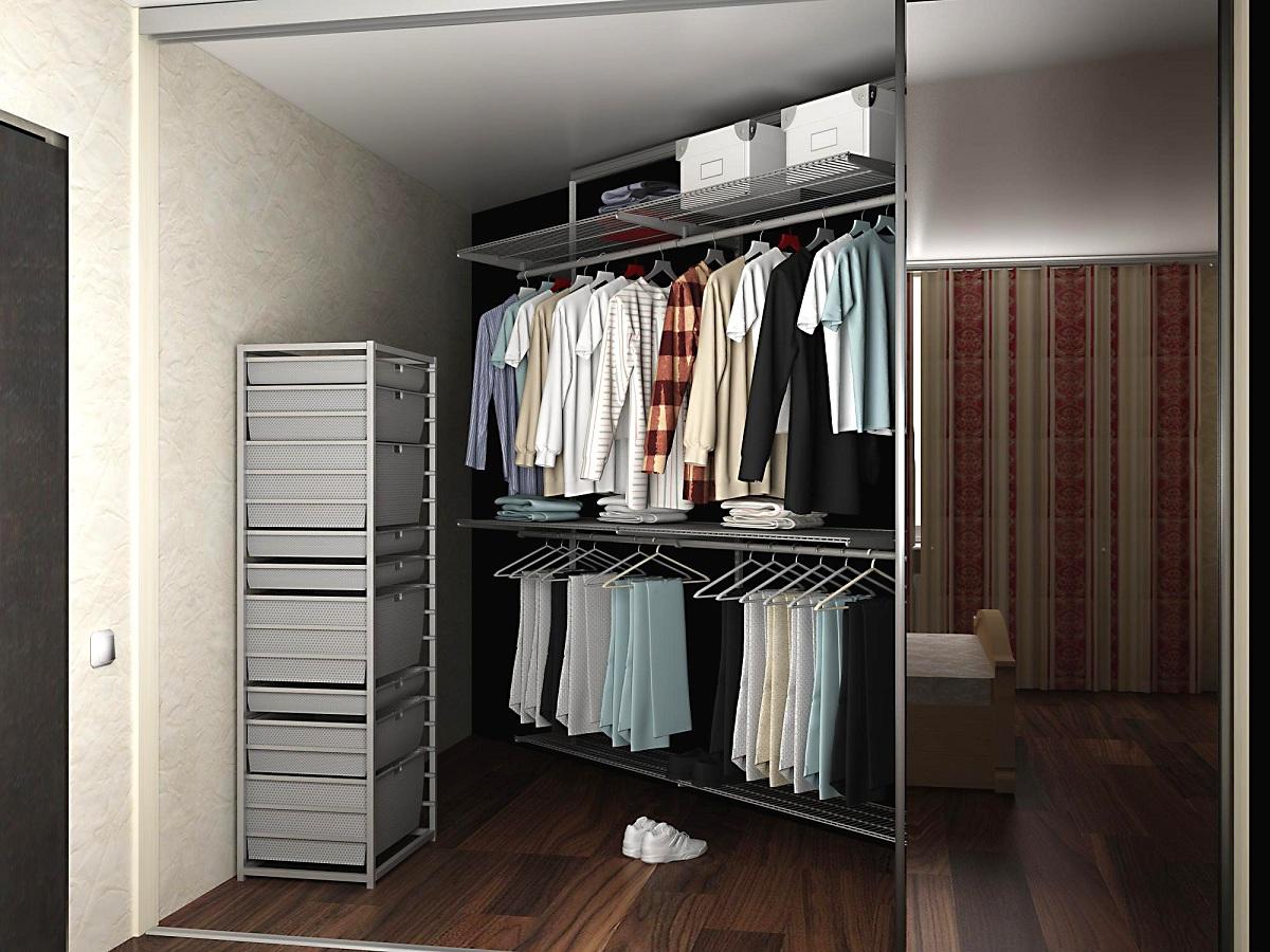 Как создать красивую гардеробную
